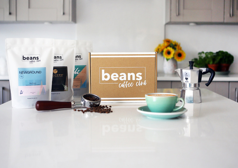 A selection of beans coffee club coffees