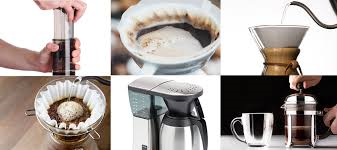 Different Brewing Methods – an easy coffee lovers guide