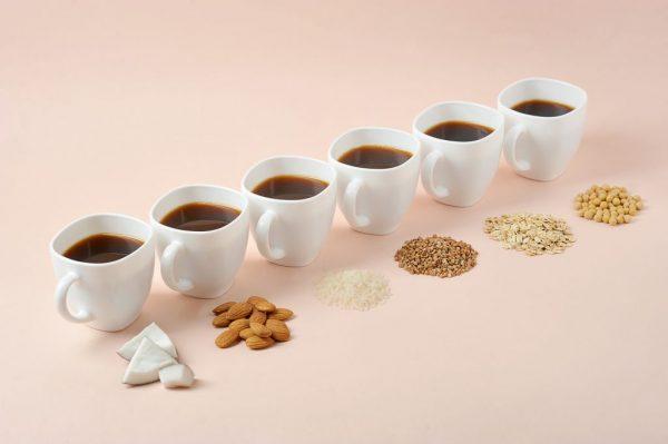Using non-dairy milk in Coffee