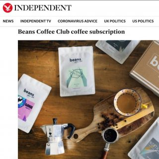 FEATURED IN THE INDEPENDENTS BEST COFFEE SUBSCRIPTION LIST 🍾🥂🏅 . Surprised and excited to be featured in the Independents 'Best Of' list. There are some really cool roasters in there but we are the only true coffee club, personally matching you to a selection of coffees from the UK's best independent roasters. . #coffeetime #coffeesubscription #coffeeclub #coffeeaddict #specialitycoffee #homebarista @the.independent