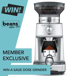 ⭐️⭐️MEMBER EXCLUSIVE PRIZE⭐️⭐️ .  WIN A SAGE DOSE CONTROL™ GRINDER PRO . For our Septembers 'Members Giveaway' we thought we would do something a little different. . To be in with a chance to win a Sage Dose Control™ Pro Grinder worth £159.95 simply tell us why you like being a Beans Coffee Club Member. . All that you need to do is create a short 30-second video and we will choose a winner for this great prize. We can't wait to see your testimonial come to life! . Click the link in bio to find out more