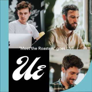 GO BEHIND THE SCENES WITH UE ROASTERS THIS FRIDAY AT 2PM!☕️📹😍 . We're super excited to be taking our 'Meet the Roasters' series live and online. LIVE on Instagram this Friday at 2pm we will be going behind the scenes with UE, Witney's finest speciality coffee roasters. Meet the team roasting your beans and discover more about their story and what makes them tick. We will also be having a tour of the roastery so you can see exactly how your beans are roasted. Mark the date and catch us live on Instagram, this Friday at 2pm. . #meettheroaster #coffeeroaster #freshcoffee #specialtycoffee #coffeehunter