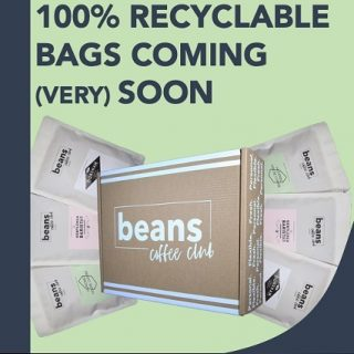 WE ARE GOING 100% RECYCLABLE 🎉👍🏻👑🎊♥️ . We all know how important it is take care of our planet and make sure we are all doing our bit for the environment. . At Beans we have spent a long time making sure we make the right decision for our long term packaging needs. It can be a complicated issue with biodegradable vs compostable vs recyclable. . Having done our research we have decided that recyclable is the way to go, so all our packaging (including the bag stickers and mailers and inserts) will ALL be recyclable. . Our new bags should be in full circulation in the next 5/6 weeks as we work through the old stock. . Our packaging is still letterbox friendly and so you don't need to worry about missing a delivery. . #coffeelover #coffeetime #coffeeclub #coffeesubscription
