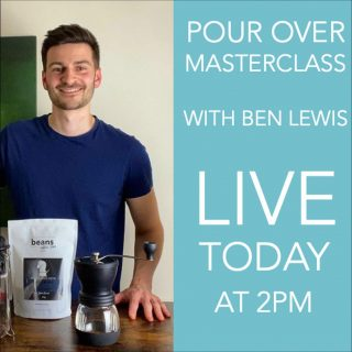 Get the best from your pour over with our Live Masterclass TODAY !!! . Join us on Facebook this afternoon at 2pm to learn some tips and tricks for getting the best taste out of your pour over coffee. Whether you're using a Kalita or a Hario we'll be showing you how to be coffee confident. . Our coffee expert @barista_benji will be sharing his expertise and answering any questions you have. . See you soon. . #coffeelover #coffeetips #pourover #pourovercoffee #hariov60 #kalita #kalitawave155 #coffeeexpert #coffeeexperience