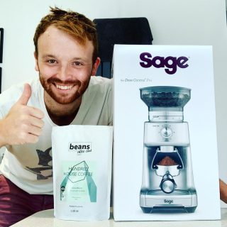 Congrats to our September members giveaway prize winner. Aaron was the lucky winner of this Sage Dose Control grinder. Every month we give away a great prize to our members, so look out for the details of Octobers giveaway soon. . Enjoy Aaron . #coffeesubscription #coffeetime #coffeegiveaway #coffeebox #coffeeclub #coffeegrinder #coffeelovers