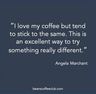 A lot of us stick to what we know, which stops us trying new things and as there is SO much choice out there it can feel overwhelming and difficult to choose.  We understand that which is why we aim to make it easy to explore and enjoy coffee with confidence as our smart matching process only matched you to coffee based on your taste and brewing preference.  Angela we are so glad to hear that we are helping you to explore the wonderful world of coffee roasted by the UK's best coffee roasters 🥰  #beanscoffeeclub #fortheloveofcoffee #coffeeadventures #stuckinarut #coffeeexplorer #awholenewworld #exploretheworldofcoffee 