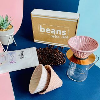 We're loving these Special Edition Drippers from @loveramics_uk  . The 3 pour over coffee drippers in pink have different patterns giving different flavour profiles and the stand in rose-gold, and the tall glass jug are all presented in a gift box. . We're going to be featuring them in some socials over the coming weeks and then giving them away to one lucky person so stay tuned to find out more about the competition. . #coffeesubscription #coffeelover #loveramics #coffeedripper #pourover #pourovercoffee #coffeeclub