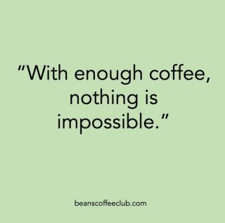 Believe the hype! Quality fuel = amazing performance.  #empoweringbelief #fortheloveofcoffee #beanscoffeeclub #positivevibes
