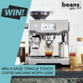 WIN A SAGE 'ORACLE TOUCH' WORTH £2000 . To support the launch of our new and improved 'Member Benefits' we are giving away this incredible Sage Oracle Touch worth £2000. . Our members get more than just fresh coffee – they get access to some fantastic benefits including exclusive content, live masterclasses, roaster interviews, great discounts and regular giveaways. . Our first giveaway is this incredible automatic bean to cup espresso machine from Sage. The 'Oracle Touch' features automation at every stage, simply swipe and select for espresso, long black, latte, flat white or cappuccino and enjoy third wave speciality coffee at home. . How to Enter . If you are already a member you will automatically be entered into the prize draw. Not a member yet? Sign up below to be in with a chance to win. Our subscriptions start from just £7.99, they are completely flexible and can be paused or cancelled any time.  T&Cs apply. Winner will be drawn on the 24th July. . Click the link in bio to take the quiz and discover your perfect coffee match today.  . #coffeeclub #coffeelover #coffeecompetition #sagecoffeemachine #oracletouch