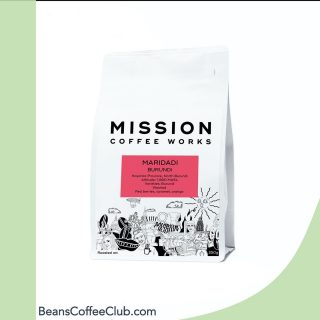 NEW COFFEES ADDED ⭐️☕️🎖🍾 . We've recently added a load of new coffees to our incredible range of delicious speciality coffees including this one from Mission Coffee Works - The Burundi Maridadi coffee is approachable and delicious, great for everyday drinking but still complex. We get red berry sweetness, with a sticky caramel body and a cut of orange citrus. Highly versatile, this coffee should work well however you brew. . Suitable for: Filter (V60, Kalita, etc), Aeropress, cold brew, cafetiere, stovetop . We have over 100 coffees from 15 of the country's best roasters and we match you to a bespoke selection based on your brewing methods and taste preferences. Always roasted to order and shipped direct.  . #coffeelover #coffeeaddict #specialitycoffee #coffeeclub #coffeesubscription #coffeeuk #coffeehunter #freshcoffee #coffeebeans #coffeelife  . @missioncoffeeworks
