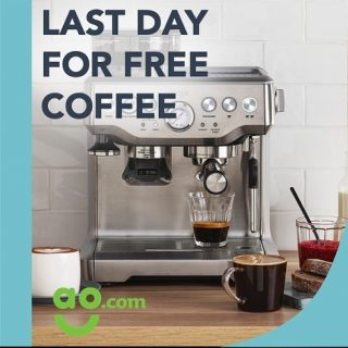 LAST DAY TO CLAIM YOUR FREE COFFEE!!!! 😱😱😱 . We have partnered with AO Online and Sage to offer free coffee with most Sage coffee machine purchases. The offer has been running since 24th October but ends today ... so if you've been thinking about treating yourself to a new coffee machine why not check out AO today and you can get up to 4 bags of coffee for free. . #freecoffee #specialitycoffee #coffeeadventures #coffeeclub #coffeesubscription #freshbeans