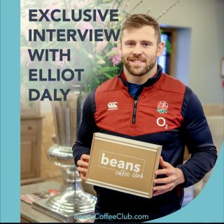 EXCLUSIVE INTERVIEW WITH RUGBY STAR ELLIOT DALY🏉🏟⭐️🌟 . We caught up with rugby star and Beans ambassador @elliotdaly to find out how the return to rugby has been going and how he uses coffee as part of his pre match routine. . Check it out on the Beans Blog ... link in bio. . #rugbylife #rugbyplayer #rugbyandcoffee #coffeeandsport #poweredbycoffee #coffeeclub #coffeesubscription