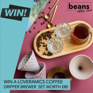 WIN A LOVERAMICS DRIPPER SET WORTH £80 . Our latest 'Members Giveaway' sees us giving away this beautiful ceramic dripper set from Loveramics  worth £80 . Our members get more than just fresh coffee – they get access to some fantastic benefits including exclusive content, live masterclasses, roaster interviews, great discounts and regular giveaways. . This special edition brewer set comes with 3 Loveramics pour over coffee drippers in pink!, the stand in rose-gold, and the tall glass jug presented in a gift box. . If you're already a member then you will be entered into the prize draw, if you're not yet a member click on the link in bio to find out more about the UKs ultimate coffee club. . #coffeelover #coffeetime #giveaway #coffeeuk #coffeesubscription #coffeebox #specialitycoffee